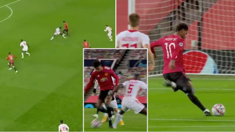 Marcus Rashford Scores Stunning 18 Minute Champions League Hat-Trick After Coming On As A Substitute