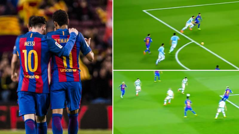 Video Of Lionel Messi And Neymar Assisting One Another Shows What A Dynamic Duo They Were