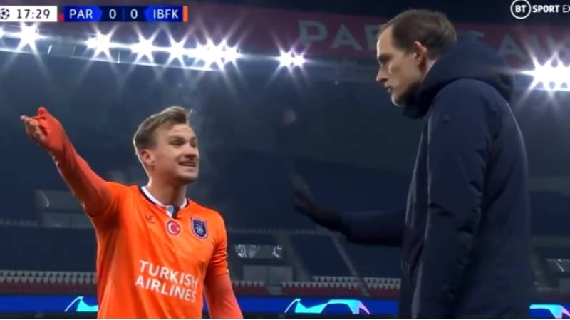 PSG Boss Thomas Tuchel Under Fire For Appearing To Back Match Officials During Racism Row With Istanbul Basaksehir