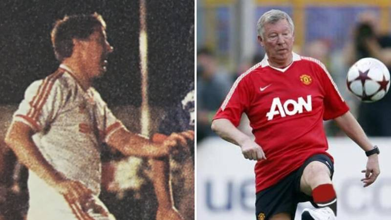 The Time Sir Alex Ferguson Played For Manchester United
