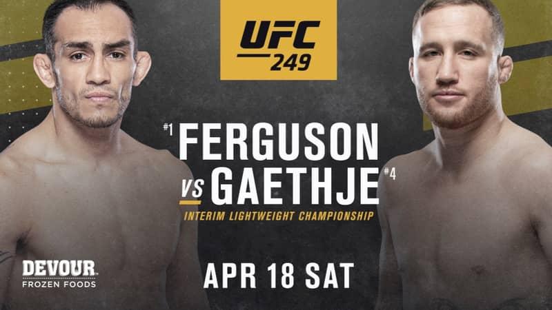 UFC 249 Full Card Revealed For April 18