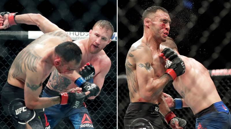 Tony Ferguson Shows Off Face After Absolute War With Justin Gaethje