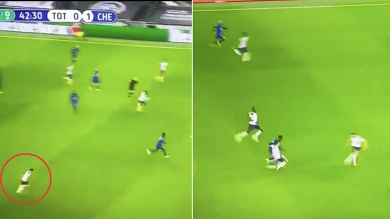 Sergio Reguilon Displayed Some Incredible Pace On Debut Against Chelsea