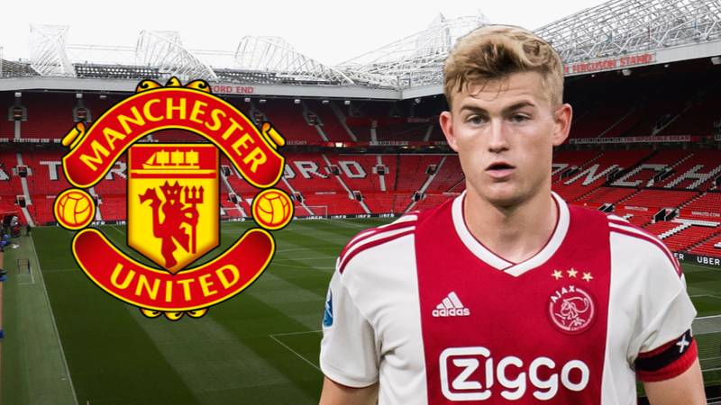 Manchester United 'Rule Out Move' For Ajax Defender Matthijs de Ligt