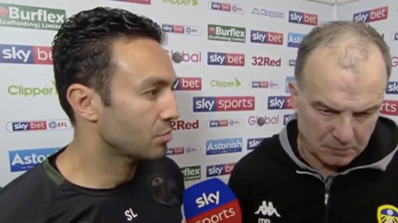 Marcelo Bielsa's Post Match Interview Is Just Full Of Really Awkward Moments