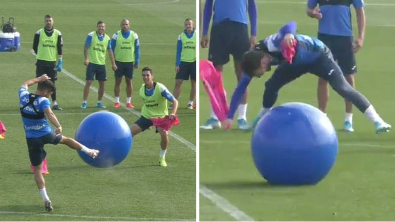 CD Leganés Have Taken Training Drills To A Whole New Level And Everybody Wants To Try It