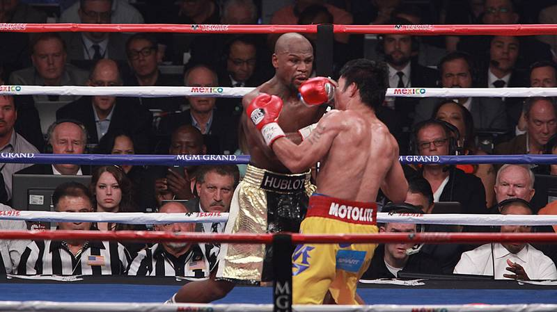 Floyd Mayweather Makes Surprise Prediction For Manny Pacquiao