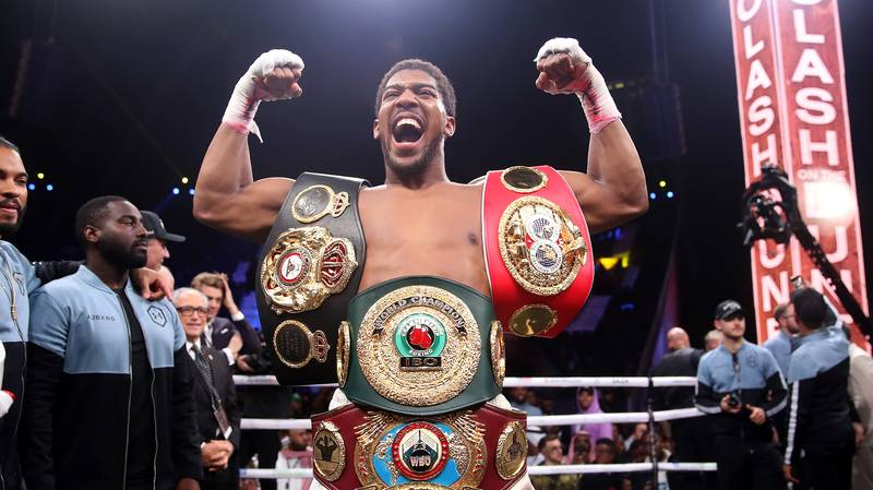 Anthony Joshua Names The Six Fights He Wants Before Retirement