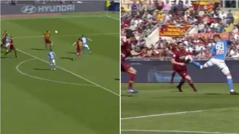 Arkadiusz Milik Turns Into Dennis Bergkamp With The Most Satisfying First Touch And Finish