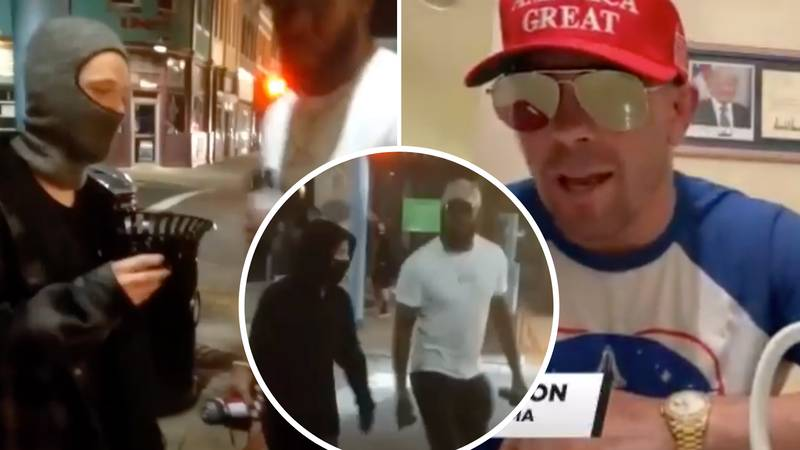 Colby Covington Launches Astonishing Attack On Jon Jones After Confronting Vandals During Protests