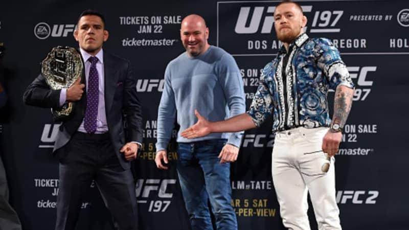 Conor McGregor Responds To Rafael Dos Anjos Call Out