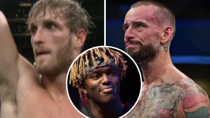 KSI Goads Logan Paul And Tells Him To Fight CM Punk In UFC
