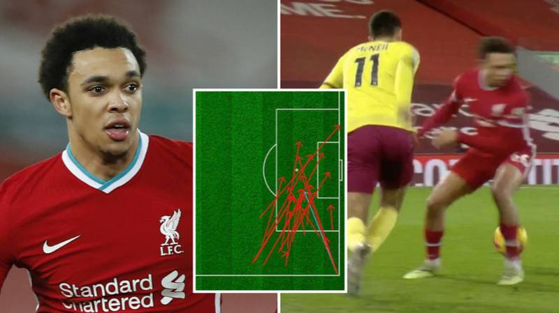Trent Alexander-Arnold Breaks Unwanted Record After 0% Success Rate From 18 Open-Play Crosses vs Burnley