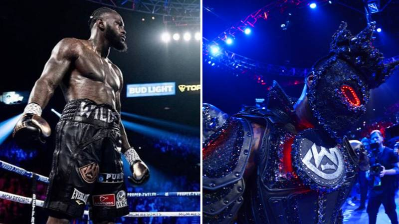 Wilder Sends Message To His Haters As He Prepares For Trilogy Fight