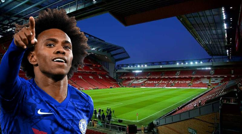 Chelsea Star Willian 'In Negotiations With Liverpool' Over Shock Free Move To Anfield