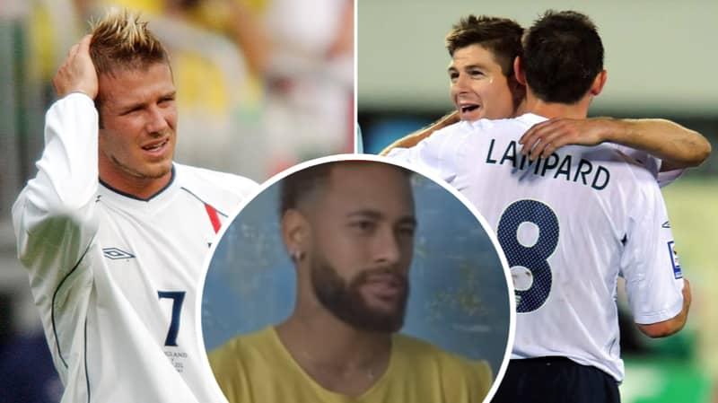 Neymar Names David Beckham, Steven Gerrard And Frank Lampard In His Dream Retired Five-A-Side Team