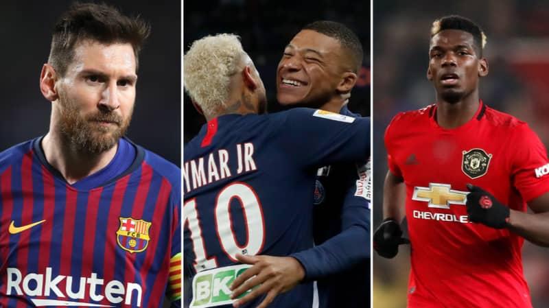 UEFA Reveal The Top 20 Highest Club Wage Bills In Europe