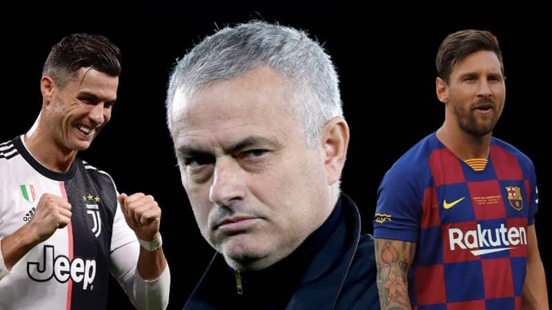 Jose Mourinho Had His Say On Lionel Messi And Cristiano Ronaldo Debate