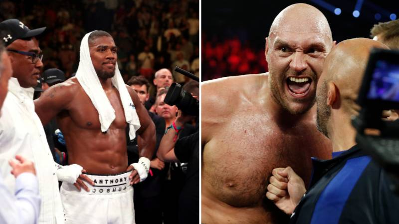 Anthony Joshua Talks About Tyson Fury's Win Over Tom Schwarz