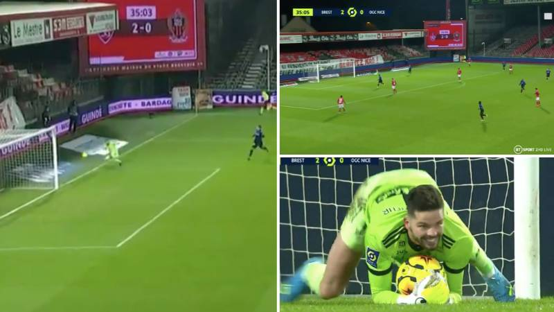 Brest Goalkeeper Almost Scores One Of The Most Bizarre Own Goals In Football History
