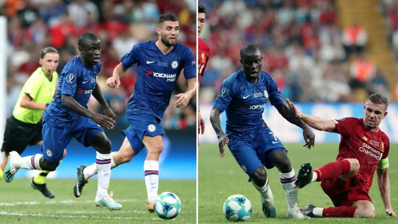 N'Golo Kante Outran Every Player In The UEFA Super Cup Despite Being Unfit And Injured