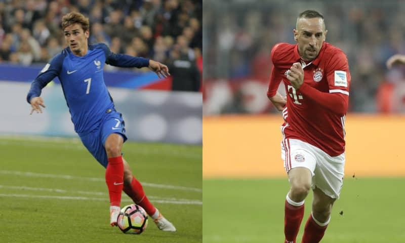 Antoine Griezmann Isn't World Class, According To Franck Ribery