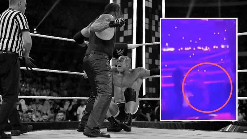 New Footage Shows The Shocking Moment Goldberg Collapsed After Undertaker Match
