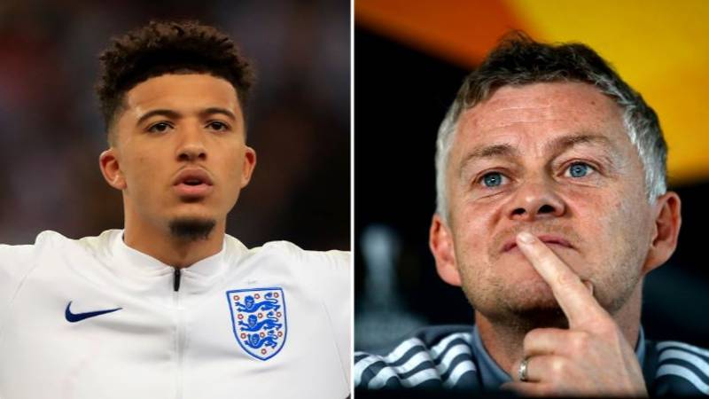 Manchester United Eye Potential Alternative To Jadon Sancho Transfer