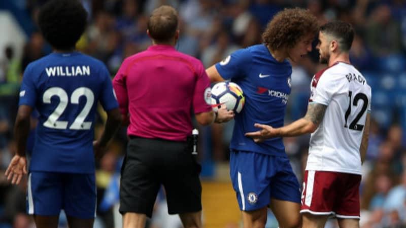 Did David Luiz 'Headbutt' Robbie Brady During Burnley Defeat?