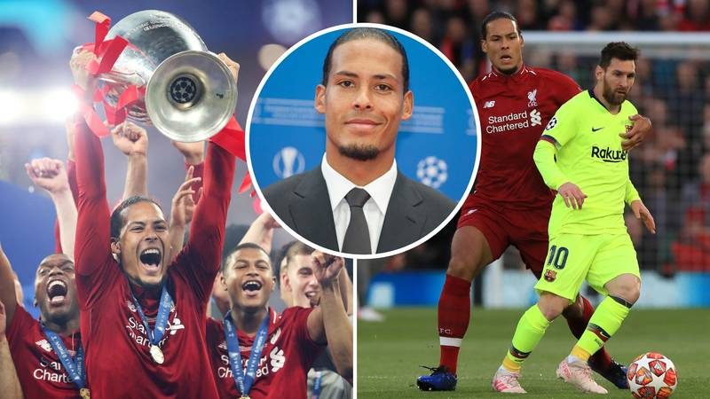 Virgil Van Dijk Recorded The Fastest Sprint In The Champions League Last Season