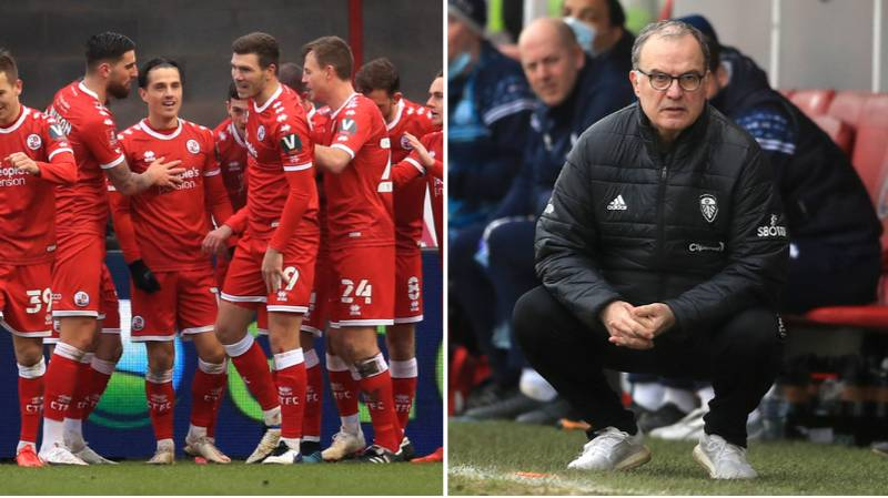 Crawley Town Knock Premier League Leeds United Out Of FA Cup