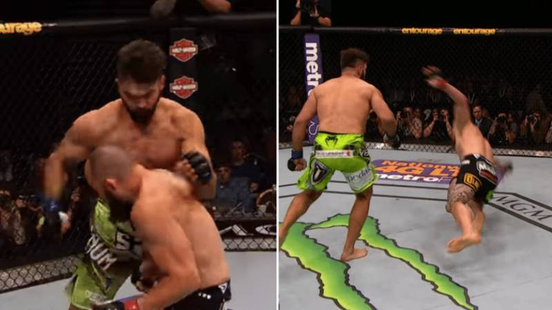 Let's Remember The Greatest Round Of Fighting In UFC History