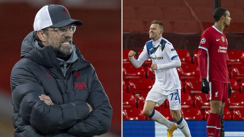 Liverpool Fan Suggests The Club Should Sack Jurgen Klopp After 2-0 Loss To Atalanta