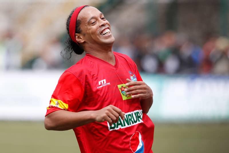 WATCH: Ronaldinho Hits Five In Indian Futsal League
