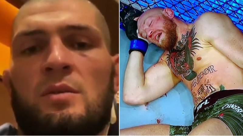 Khabib Nurmagomedov Reacts To Rival Conor McGregor's UFC 257 Loss To Dustin Poirier