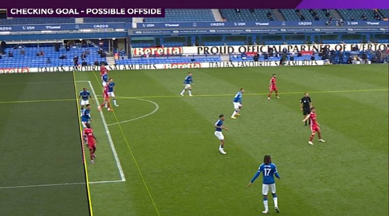 Liverpool's Last-Gasp Winner Against Everton Controversially Ruled Out By VAR