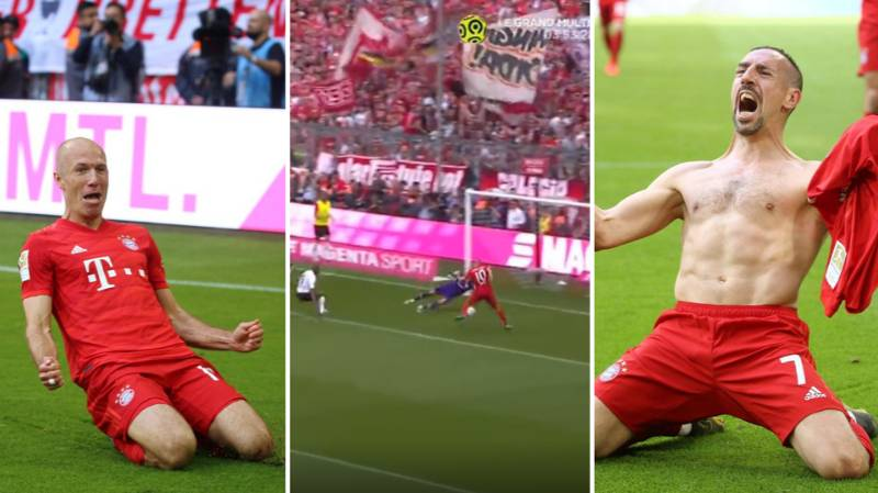 Franck Ribery And Arjen Robben Sign Off From Bayern Munich With Goals