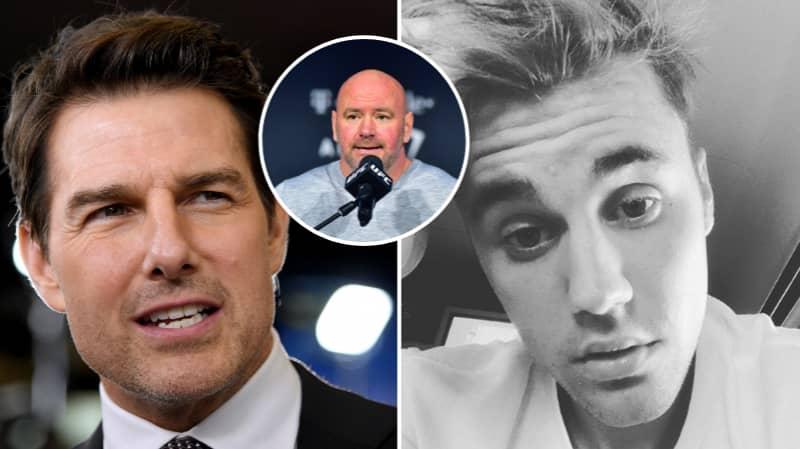 Dana White Is Open To Hosting Tom Cruise Vs Justin Bieber MMA Fight