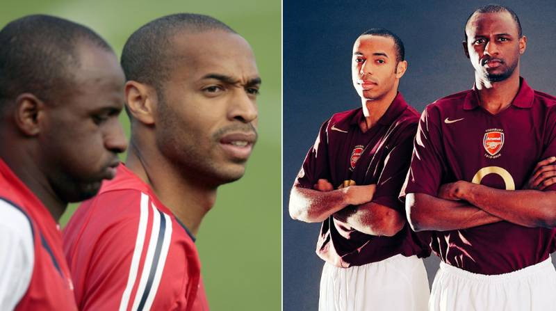 Thierry Henry Will Meet Patrick Vieira In The Dugout On October 27