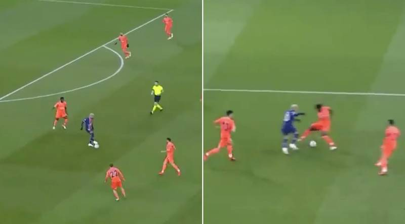 Neymar Pulls Off Cheeky Nutmeg Before Scoring Sensational Goal Against Istanbul Basaksehir