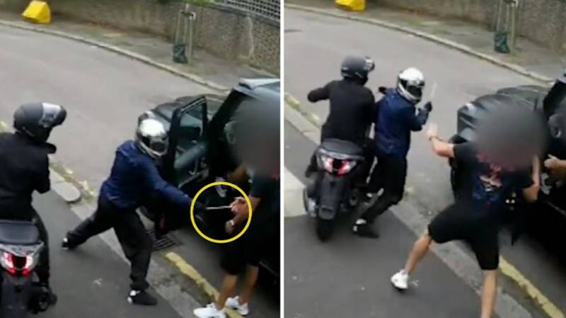 New Footage Of Attack On Sead Kolasinac And Mesut Ozil Shows Weapon Was Pulled