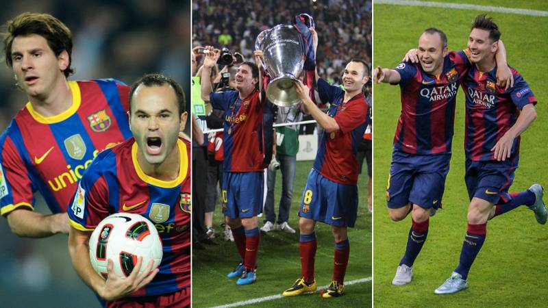 Lionel Messi Pays Tribute To Andres Iniesta With Emotional Farewell Message
