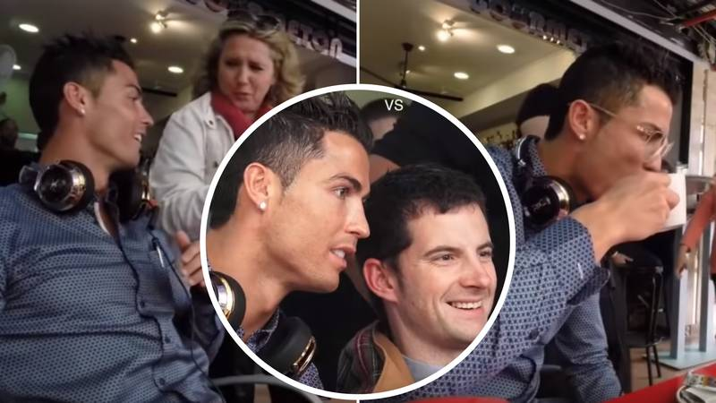 Footage Of What It's Like To Be Cristiano Ronaldo In Public Has Emerged - It Looks Horrific