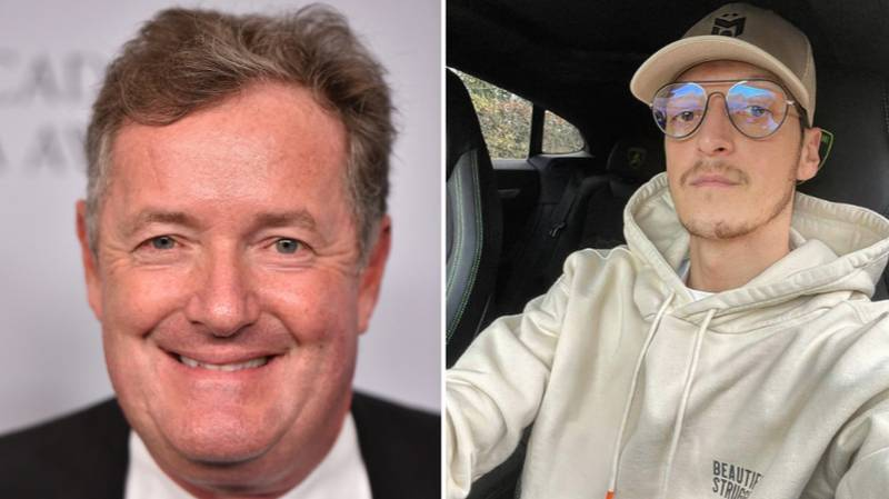 Piers Morgan Offers Mesut Ozil A Lift To The Airport Ahead Of Rumoured Transfer