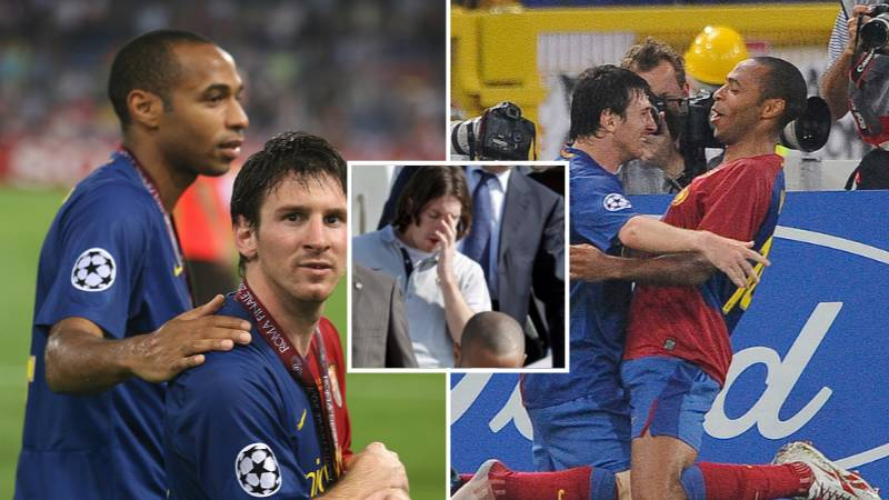 Lionel Messi Was So Starstruck With Thierry Henry He Couldn't Look Him In The Face