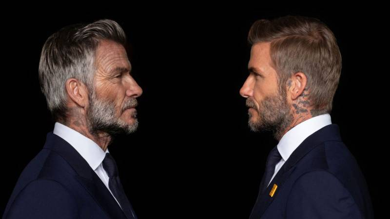 David Beckham Has Been Digitally Aged For Campaign To End Malaria