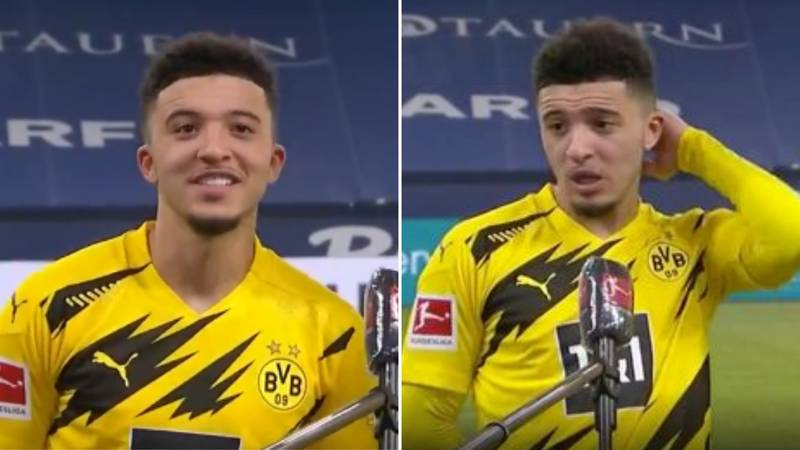 Jadon Sancho's 'Half-British, Half-German' Accent Is Blowing Everyone's Minds