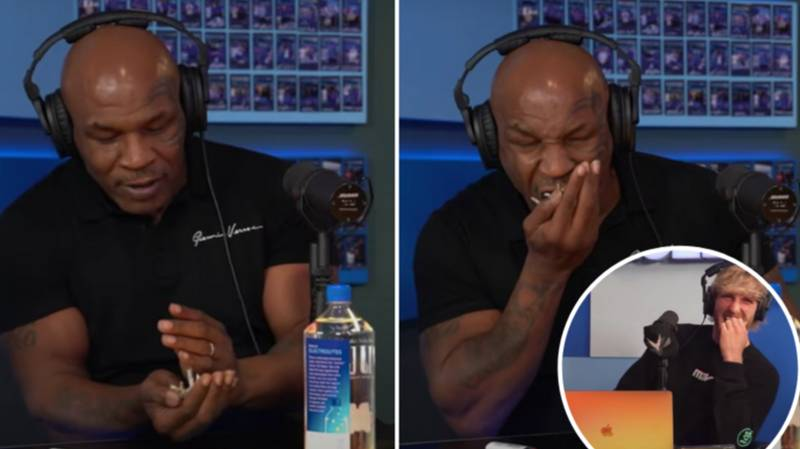 Mike Tyson Casually Ate Four Grams Of Mushrooms On Logan Paul's 'Impaulsive' Podcast