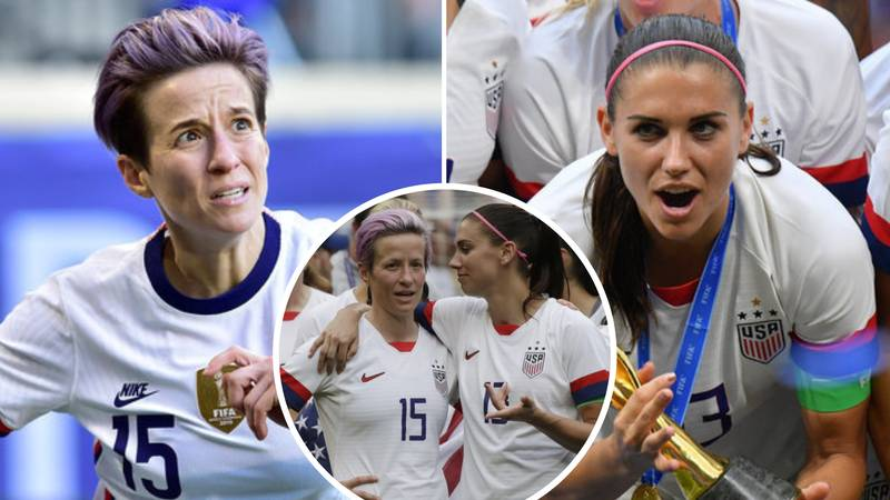 Megan Rapinoe And Alex Morgan Confirm US Women's Team Will Appeal Against Equal Pay Defeat