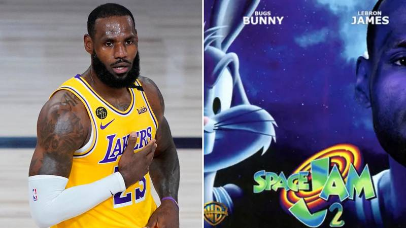 LeBron James Gives Fans A Sneak Peak At Space Jam 2 Jersey